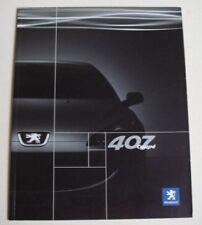 Peugeot . 407 . Peugeot 407 Coupe . January 2006 Sales Brochure