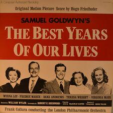 "Ost-Soundtrack-the best years of our Lives-hugo friedhofer 12"" LP (l858)"