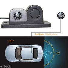 HD 170° Viewing Angle Car Rear View Camera with Radar Parking Sensor Waterproof