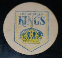 OFFICIAL GAME PUCK NHL USED VICEROY CANADA LOS ANGELES KINGS LA MADE IN CANADA