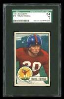 1951 Bowman #19 Travis Tidwell New York Giants SGC 84 / 7 NM
