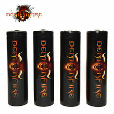 4 Pack Demonfire Imr 18650 Rechargeable LiMn Batteries High Drain 3.7V 2000mAh