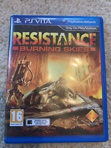 Resistance: Burning Skies (Sony PlayStation Vita, 2012) - European Version