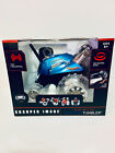 Sharper Image RC 360 Rally Car Thunder Tumbler Blue 27 MHz Ages 6 and up