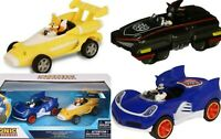 Sonic Hedgehog Shadow Tails Pull Back Vehicle Racing Figure Action Car Toy Gift