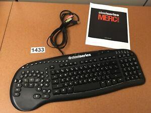SteelSeries Merc Stealth Backlit Gaming Keyboard Model KUH0702 + Users Manual