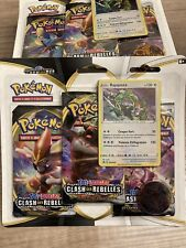Pokémon Tripack Épée Bouclier 2 - Clash des Rebelles - Rayquaza - 3 Boosters FR