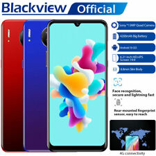 "6.21"" 4G LTE Blackview A80 Android 10.0 Mobile Phone Smartphone 4200mAh Dual SIM"