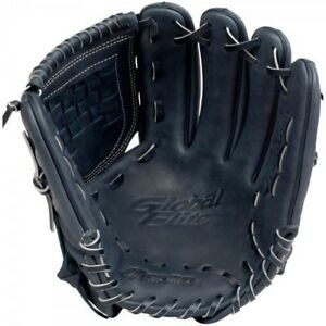 Mizuno GGE11NY 12 Inch  RHT Global Elite Pro Navy Blue Baseball Glove Righty