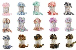Alize Puffy Color Colours 100g Skein - 21 Colours