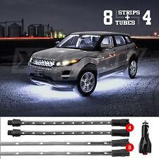 NEW LED Neon Accent Lighting Kit for Car Truck Underglow Interior 3 Mode - WHITE