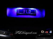 Blue Holden Ve L.E.D numberplate light bulbs Maloo clubsport gts ss sv6 ssv FLD