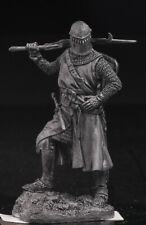 Medieval Knight  | Tin Toy Soldier 54mm | Metal Figure | sol-54-056