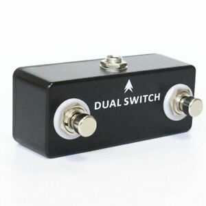 MOSKY DUAL SWITCH Guitar Effect Pedal Dual Footswitch Foot Switch Guitar Pedal