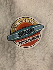 Summer Surfing Sticker Surf Club