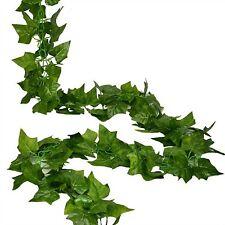 RURALITY 16 Ft - 2 Artificial Ivy Silk Greenery Fake Hanging Vines Wedding Ga...