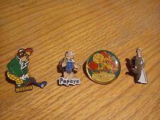 Pins Disney, BD, Cinéma lot de (4 pins)
