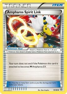 Ampharos Spirit Link 70/98 Uncommon Ancient Origins Pokemon Card NM/M