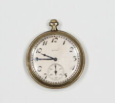 * ELGIN * Gold 1920's Era Grade Winding Vintage Pocket Watch