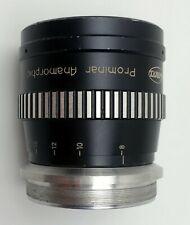 Kowa 16-H Prominar Anamorphic Lens madein Japan rare!.