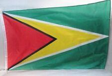 GUYANA Large 3 x 5 Country Flag  New Nylon Blend Metal Grommets