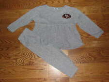 NEW San Francisco 49ers Girls Pants Shirt Set Outfit Size 3T 3 T Toddler