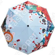 Alice in Wonderland umbrella cosplay ANTI UV pluie parapluie Anime Alice parapluie