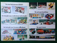 S147 Pubblicità Advertising Clipping 19x13 cm (1976) LEGO LEGOLAND