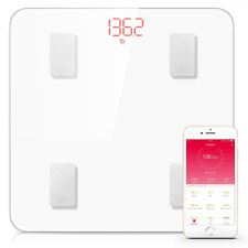 Phcomm S7 Smart Digital Bathroom Weight Fat Scale Body Mobile Fitbit Bluetooth