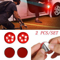 2PCS Universal Car Wireless LED Door Opened Safety Warning Signal Lights-WI