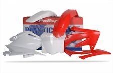 Polisport Motocross Plastique Kit pour Honda CRF 250 09 Only OEM Rouge blanc