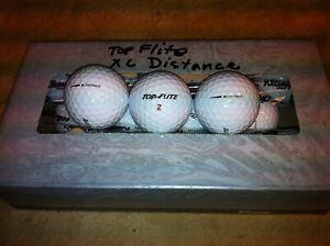 60 Top-Flite XL Distance  Near Mint golf balls