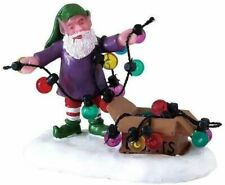 Miniature Dollhouse Fairy Garden Christmas Elf Untangling Lights - Buy 3 Save $5