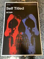 Deftones Limited Print Serigraph Self Titled Lithograph Poster Skull