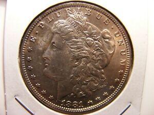 1881-O Morgan Dollar Toned Uncirculated