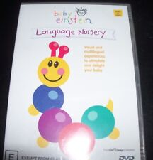Baby Einstein - Language Nursery (Australia Region 4) DVD – New
