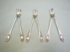 6 OLD COLONY SEAFOOD COCKTAIL FORKS-CLASSIC 1911 ROGERS FINE