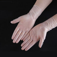 200 Disposable Gloves Medical PVC Anti-virus Personal Protective Gloves Flexible
