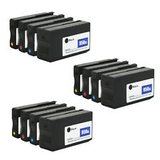 12 Pack 950XL 951XL ink cartridges for HP Officejet Pro 8610 8600 Plus