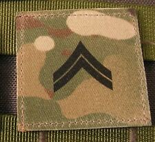 Galons US - CORPORAL - grade scratch MULTICAM rank insignia SNAKE PATCH