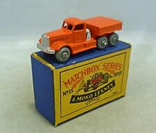 Moko Lesney Matchbox Toys MB15a Prime Mover Tractor Unit