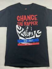 Chance The Rapper 2017 Tour Hip Hop Concert T Shirt 2 Sided Unisex Small A+