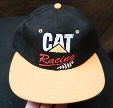CATERPILLAR CAT RACING CONSTRUCTION ADJUSTABLE HAT CAP NASCAR