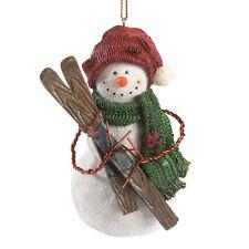 Boyds Bears Snowman Skier Christmas Ornament ~ Juneau Snowbert ~ 4041896
