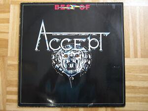 LP /   Accept – Best Of Accept   / DE PRESS /  RAR /