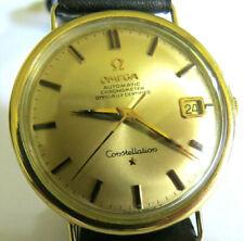 """Herrenarmbanduhr """" OMEGA CONSTELLATION CHRONOMETER """"  60er Jahre, 18K/750 Gold"""