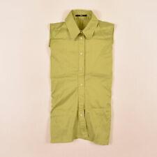 Hugo Boss Damen Bluse Hemd Top Shirt Blouse Gr.32 90er Retro Grün, 72720