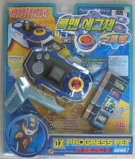 TAKARA ROCKMAN ROCK MAN EXE DX Progress Pet Blue with 6 Battle Chip Brand New