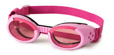 SUNGLASSES FOR DOGS by Doggles - PINK FRAME WITH PINK MIRROR LENS -  SMALL