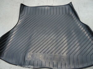 TOYOTA KLUGER CARGO MAT RUBBER AUG 2003 - MAY 2007 MCU28 NEW GENUINE ACCESSORY